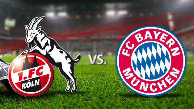 1 Fc Köln Gegen Bayern